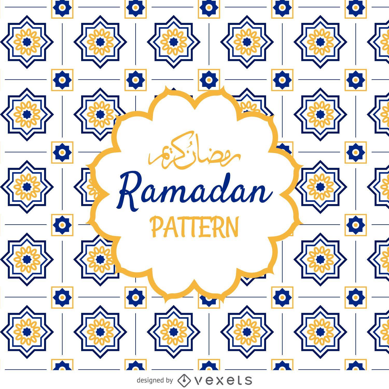 Arabic Ramadan pattern