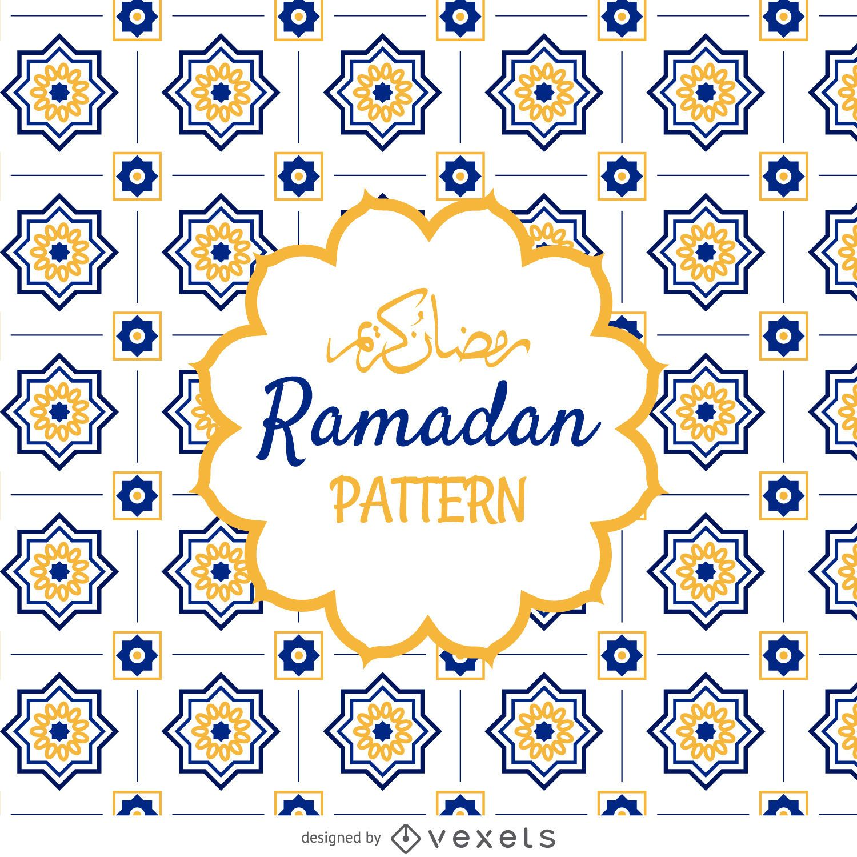 Padrão de Ramadã Árabe