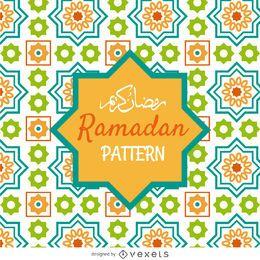 patrón de mosaico Ramadán