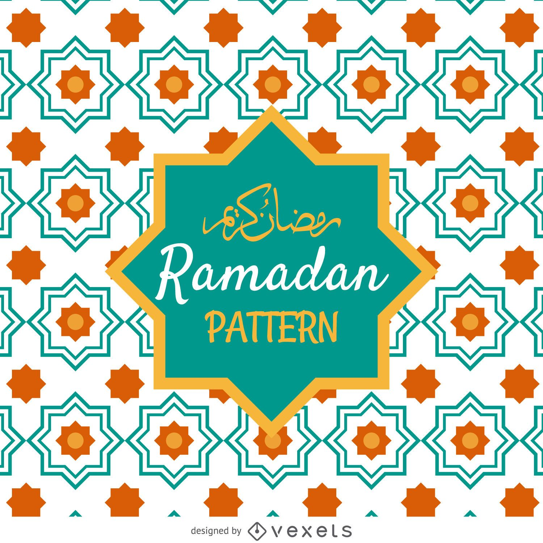 Ramadan tiles pattern