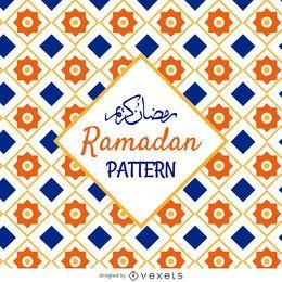 Patrón de mosaico árabe