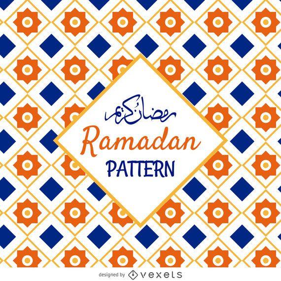 Patrón de azulejo árabe
