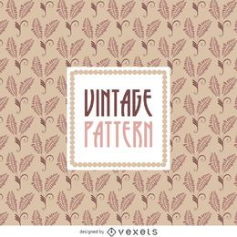 Vintage pink floral background