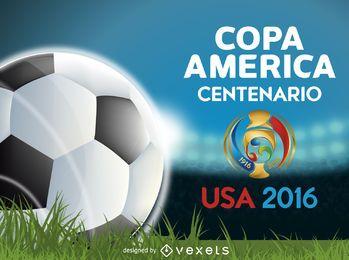 Bandera de la Copa América Centenario