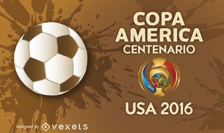 Banner da Copa América 2016
