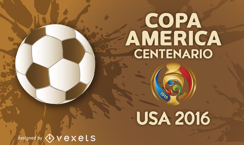 Banner Copa América 2016