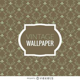 Papel de parede de redemoinhos vintage