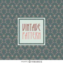 Papel de parede padrão vintage