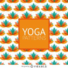 Patrón de yoga de loto