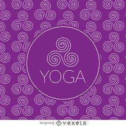 Padrão de desenho Zen yoga