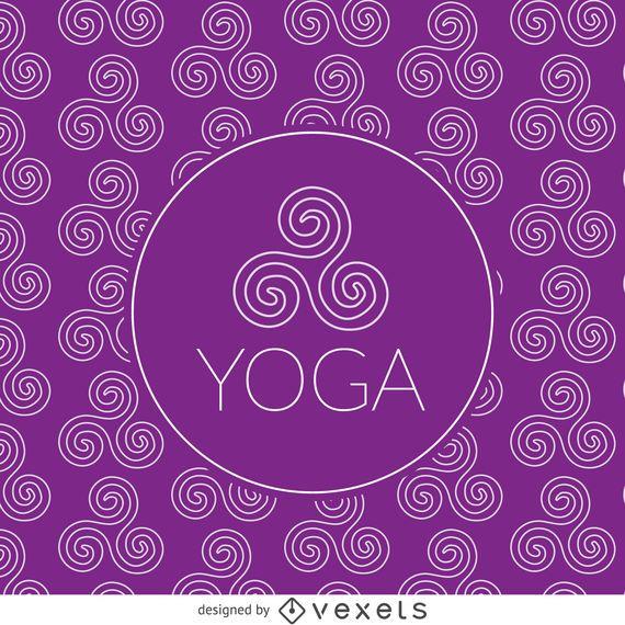 Zen Yoga Zeichnungsmuster