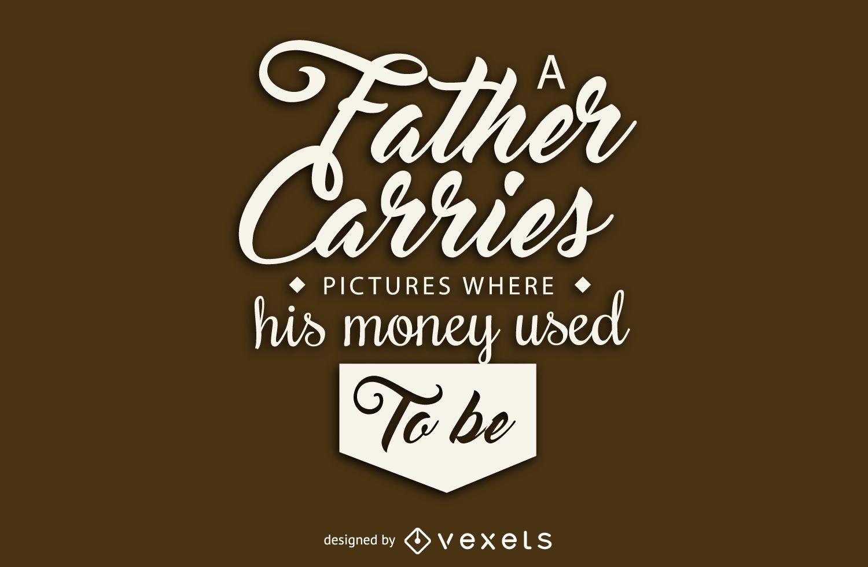 Cita del día del padre