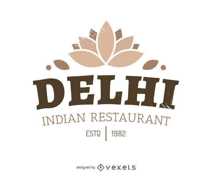Logo de comida india