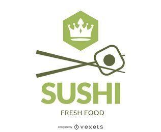 Logo für das Sushi-Branding