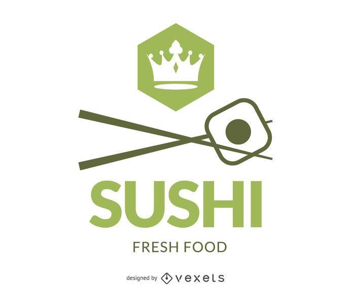 Sushi branding logo