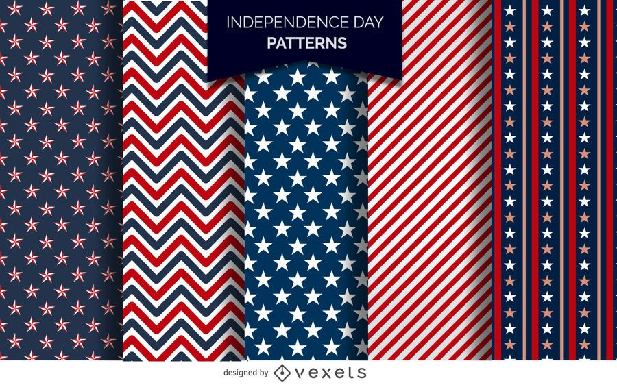 US Independence Day-Muster