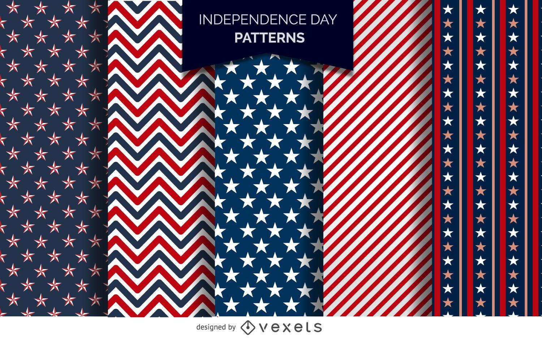 Muster des US-Unabhängigkeitstags
