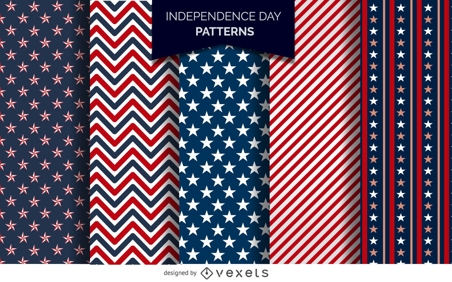 US Independence Day patterns