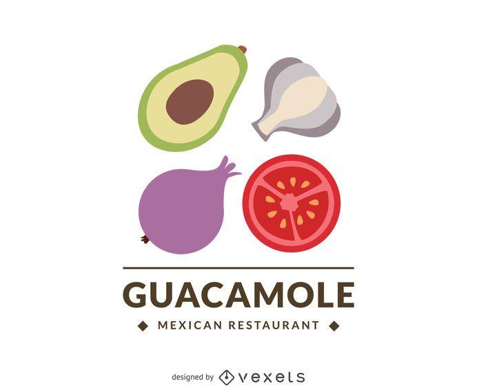 Mexikanisches Restaurant-Logo