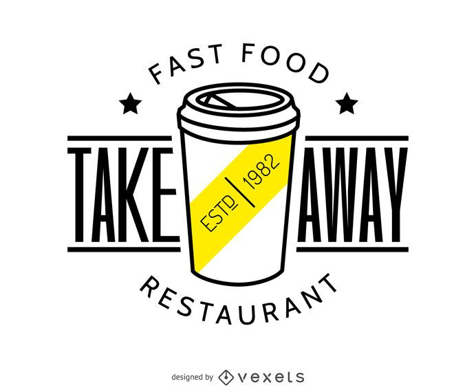 Take away food logo