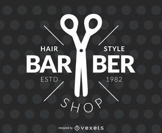 etiqueta de peluquería peluquero