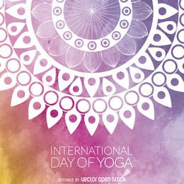 projeto da mandala Dia Yoga