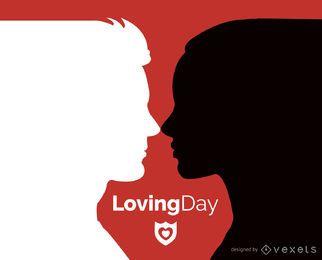 Tarjeta del día amoroso