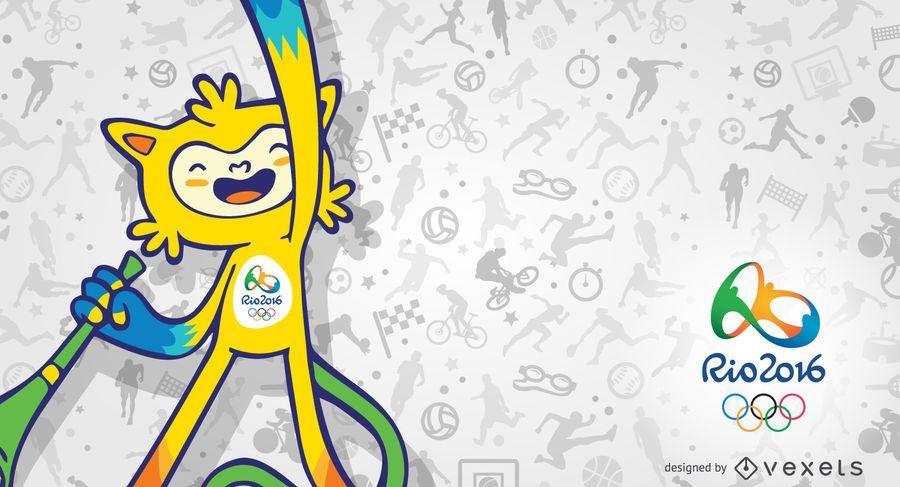 La mascota de Vinicius Rio 2016