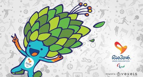 Rio 2016 mascot Tom banner