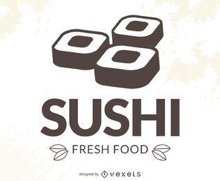 Logotipo moderno de sushi