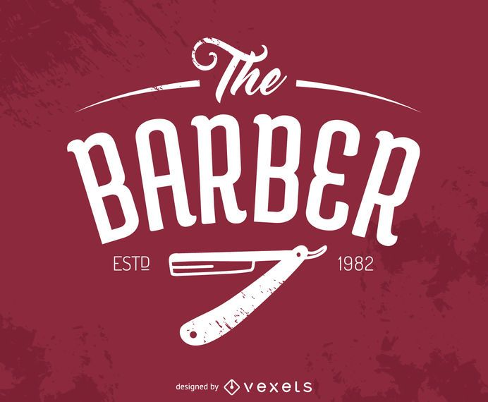 Logotipo do Barbeiro Hipster