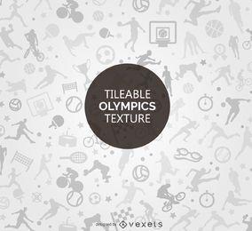 Diseño de textura de los Juegos Olímpicos enlosables