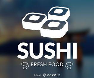 logotipo Sushi com fundo
