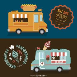 Foodtruck double design