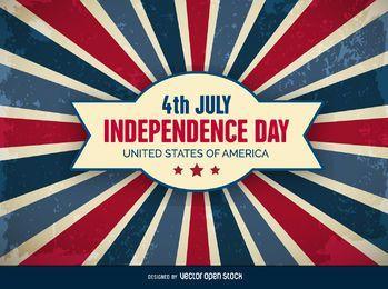 4. Juli Unabhängigkeitstag Hintergrund