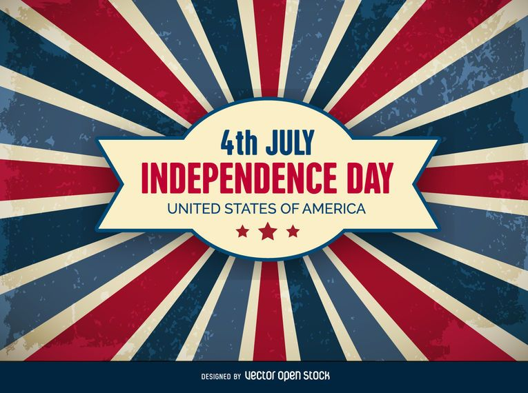 4th of July Independence Day Vector download