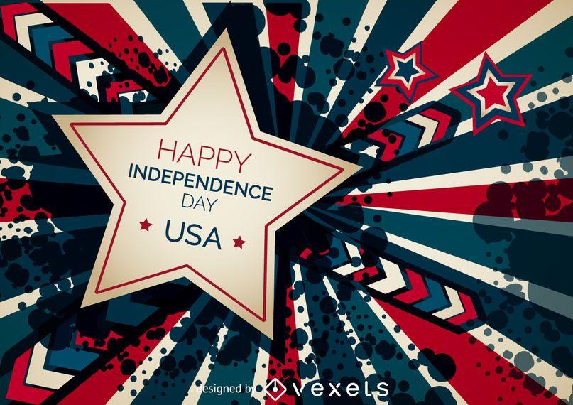 Feliz dia da independência banner