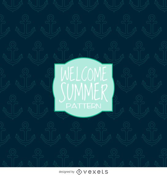 Summer anchor pattern