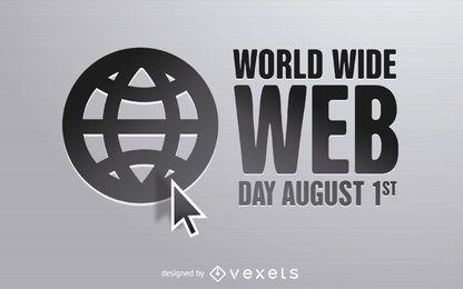 Diseño del Día de la World Wide Web.
