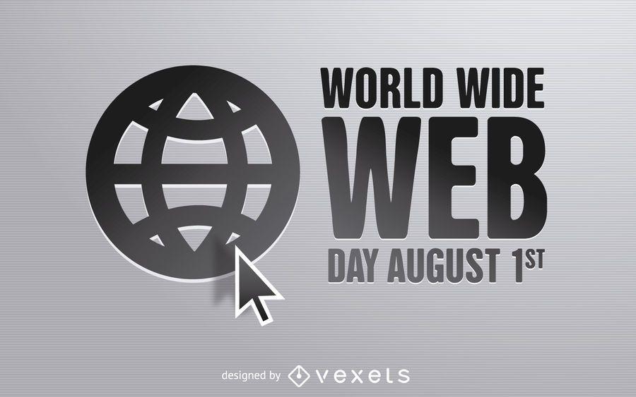 World Wide Web Day design