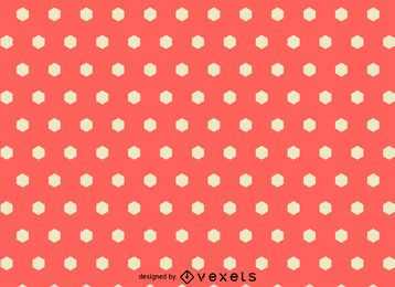 Patrón poligonal rosa