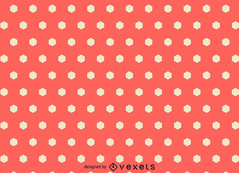 Pink polygonal pattern