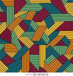 Fundo geométrico ornamental