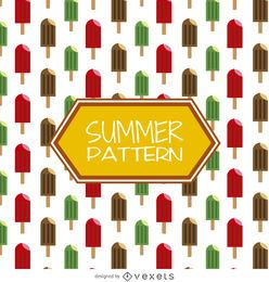 Popsicles summer pattern