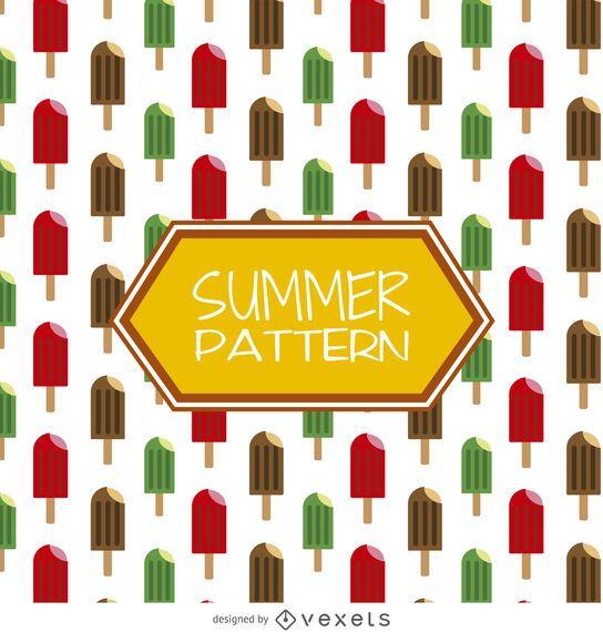 Popsicles summer pattern