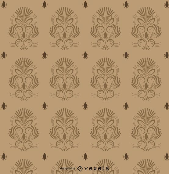 Vintage pinstripe pattern