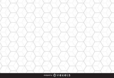 Bienenwabe sechseckiger Hintergrund