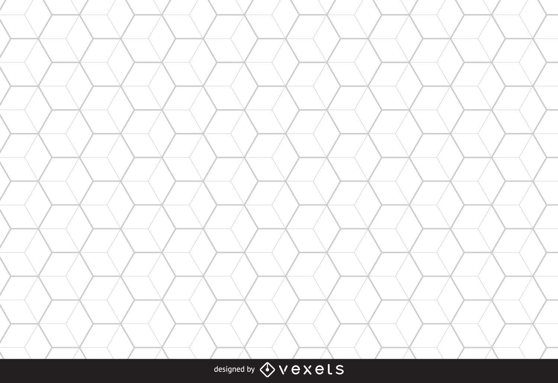 Fundo hexagonal de favo de mel