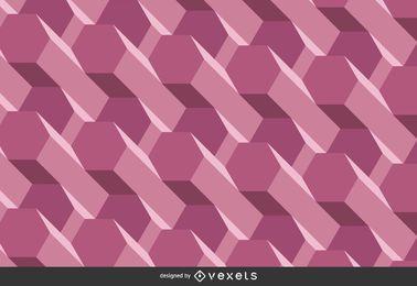 Fundo tridimensional roxo