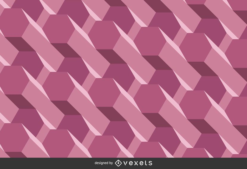 Purple three-dimensional background